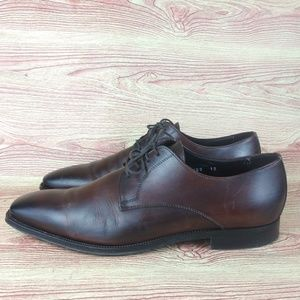 To Boot New York Brandon Cap Toe Oxford Brown 12